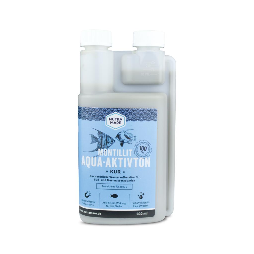 Aquarium-Wasseraufbereiter Montillit Aqua-Aktivton 500ml